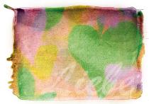 Liebe, arteschocken Postkarte von Erika Genser