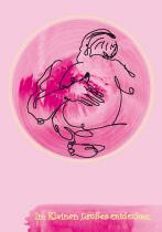 Im Kleinen, Großes entdecken. arteschocken Postkarte von Erika Genser