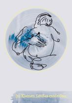 Im Kleinen, Großes entdecken. arteschocken Postkarte von Anja Schneider