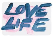 Love Life, arteschocken Postkarte von Anja Schneider