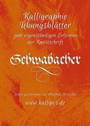 Kalligraphie Übungsblätter Schwabacher