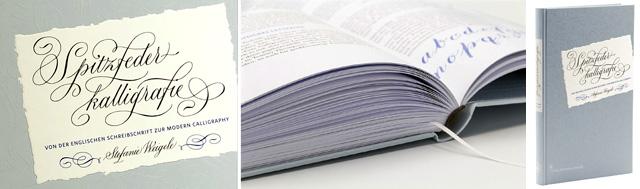 Spitzfeder-Kalligraphie, Buch von Stefanie Weigele, Verlag Hermann Schmidt
