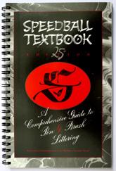 Speedball Textbook, 25th Edition, 25. Auflage, Titelseite