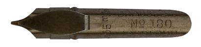 Brause & Co, Bandzugfeder Nr. 180, 0,55 mm, antik