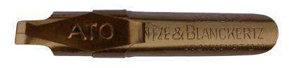 Bandzugfeder mit Aufkante, Heintze & Blanckertz, No. 627, ATO