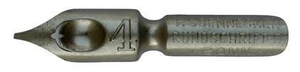 F. Soennecken, Rundschrift-F. No. 4, Typ 2