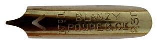 Bandzugfeder, Blanzy-Poure & Cie, No. 230-1, 0,7mm