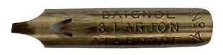 Bandzugfeder, Baignol & Farjon, No. 394-4, A la Ronde, Typ 1