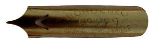 Bandzugfeder, Gilbert & Blanzy-Poure, No. 229-0, Pour la Ronde, Typ 2