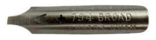 Schreibfeder, Perry & Co, Josiah Mason, No. 794 Broad