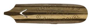 Bandzugfeder, Blanzy-Poure & Cie, No. 231-2, 1mm, Typ 2