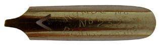 Bandzugfeder, Blanzy-Poure & Cie, No. 232-3, 1,2mm, Typ 2