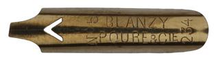 Bandzugfeder, Blanzy Poure & Cie, No. 234-5, 2mm, Typ 1