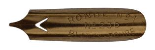 Bandzugfeder, Blanzy-Poure & Cie, No. 230-1, Typ 2