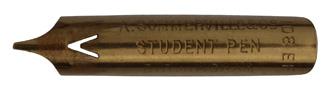 Kalligraphie Bandzugfeder, A. Sommerville & Co, No. 108 EF, Student Pen
