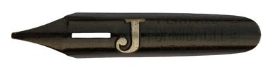 Kalligraphie Bandzugfeder, Perry & Co, No. 1407, Formidable, J