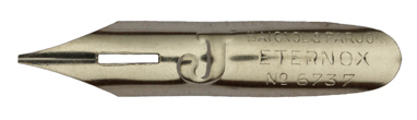 Antike Bandzugfeder, Baignol & Farjon, No. 6737, Eternox