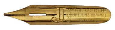 "Antike Bandzugfeder, Setten & Durward, ""J"", The Golden Criterion"