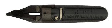 Antike Bandzugfeder, Macniven & Cameron, The Flying J-Pen
