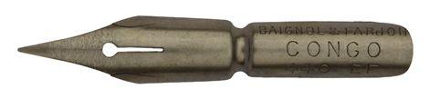 Baignol & Farjon, No. 440 EF, Plume Congo, Typ 1