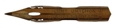 Blanzy Poure & Cie, No. 083, Plume Omicron