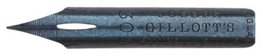 Kalligraphie-Spitzfeder, Joseph Gillott, No. 303 Extra Fine (Blaue Feder)