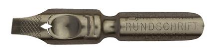Antike Bandzugfeder, Nero-Werke, No. 1, Rundschrift, D.R.P.