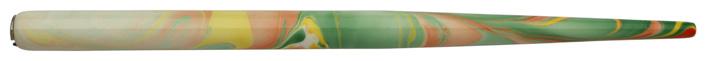 Federhalter mit Globuseinsatz, Pastell / Bunt 3 marmoriert