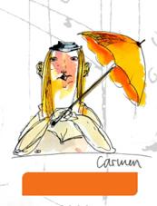 Rohrer & Klingner, sketchINK®, Carmen, orange, pigmentierte Füllertinte