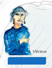 Rohrer & Klingner, sketchINK®, Marlene, blau, pigmentierte Füllertinte