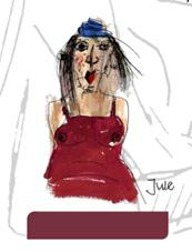 Rohrer & Klingner, sketchINK®, Jule, violett, pigmentierte Füllertinte