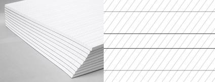Übungsblock für die Englische Schreibschrift Anglaise / Copperplate, 50 Blatt, 100g/m²