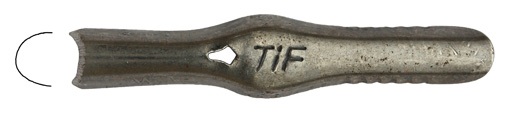 Heintze & Blanckertz, Linolschnitt-Werkzeug, U-Gauge No. 15, TIF