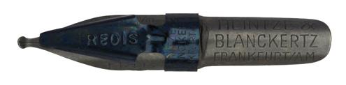 Antike Schnurzugfeder, Heintze & Blanckertz, No. 1146, 1,5mm, Typ 1