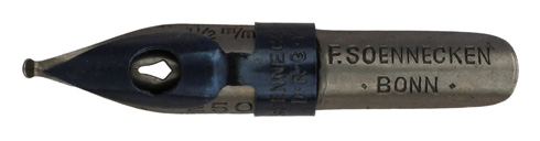 F. Soennecken, No. 250, 1,5mm, Typ 1