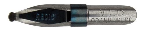 Schnurzugfeder, VEB Kaltwalzwerk Oranienburg, Redisfeder No. 46, 3mm