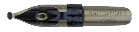 F. Soennecken, No. 250, 2,5mm, Typ 1