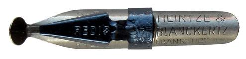 Antike Schnurzugfeder, Heintze & Blanckertz, Redisfeder 1146, 5mm, Typ1