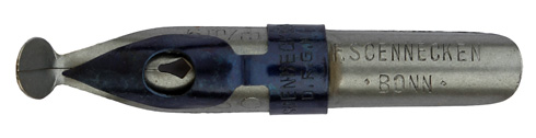 F. Soennecken, No. 250, 5mm, Typ 1