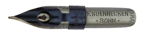 F. Soennecken, No. 250, 0,5mm, Typ 1, Germany