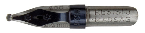 Mathias Salcher & Söhne, Massag, No. 400, 2,5mm, Resisto