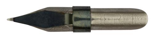 Berliner Schreibfeder-Fabrik (VEB), Schnurzugfeder No. 46, 0,5mm