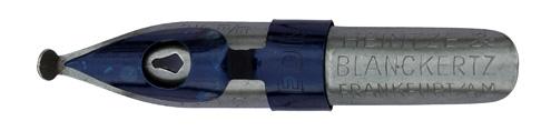 Schnurzugfeder, Heintze & Blanckertz, No. 1146, 2,5mm, Redisfeder Typ 5