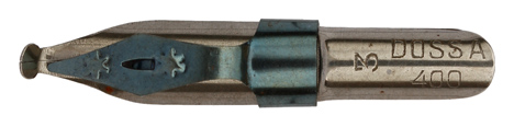 Antike Schnurzugfeder, Dossa, No. 400-3