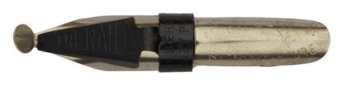 Antike Kalligraphie Schnurzugfeder, Gilbert & Blanzy-Poure, No. 1810, Treraid, 3,5mm, Typ 2