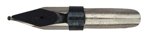 Antike Schnurzugfeder, Gilbert & Blanzy-Poure, Tréraid, 1,25mm, Typ 1