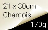 Kalligraphie- und Zeichenpapier, 170g, chamois, 21x30cm