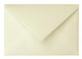 Briefumschlag, C6, naturweiß, mit Büttenrand