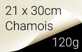 Kalligraphie- und Zeichenpapier, 21x29,7cm, chamois, 120 g/m²