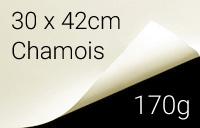 Kalligraphie- und Zeichenpapier, 30 x 42cm (A3), chamois, 170 g/m²